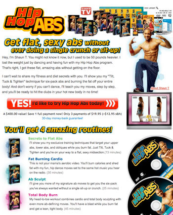 Hip Hop Abs Program